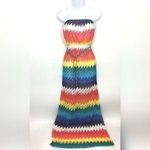 Rainbow Maxi Dress